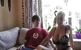 NastyPlace.org - Busty German Mom Fucking With Young Boy