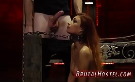 Strap on anal extreme Poor tiny Jade
