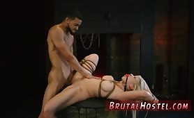Bdsm anal and tall girl dominates guy first