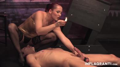 It's a dick torture time with BDSM mistress Lady Domenika