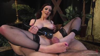 <p>Lusty mistress Cherry Torn teases and torments Servant boy K. Dynamite</p>