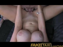 <p>FakeTaxi Super hot tourist with big boobs pays her way</p>