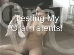 asian teen show her oral skills
