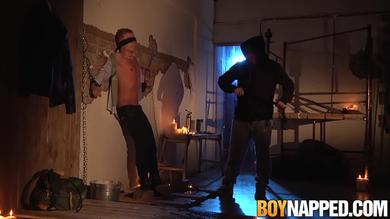 <p>Twink Chris Jansen getting his penis punished by Sebastian that is Older in BDSM</p>