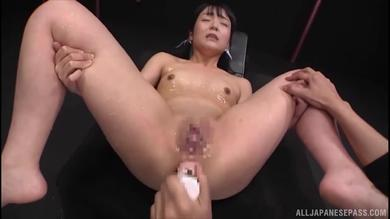 <p>Japanese assfuck loving babe Sayo Arimoto gets rear toyed</p>