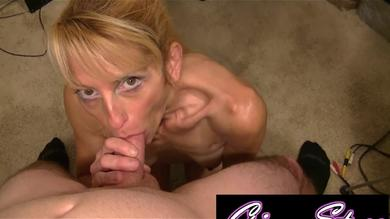 Gina Starr makes a nice blow job POV