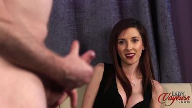 <p>Kinky voyeur Ella Rose Loves watching a dude jerking off his penis</p>