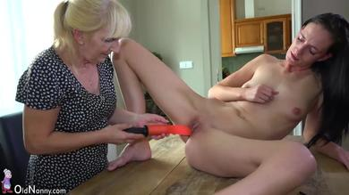 <p>Granny her toys Within a Teenager and Grandma</p>