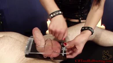 Femdom Cheyenne is enjoying the CBT game