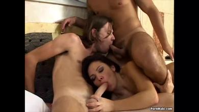 <p>Wild Bisexual Threesome</p>
