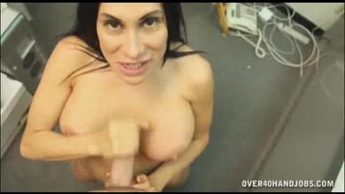 <p>Ravishing Busty Mature Gives Sexy POV Handjob</p>