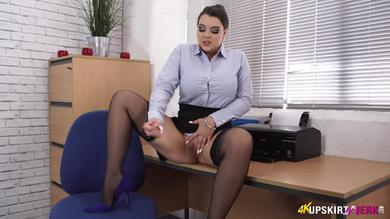 <p>Upskirt Jerk time Together with curvaceous Workplace girlfriend</p>