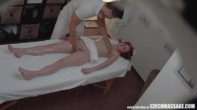 <p>Amateur redhead gets her twat fingered during oil massage spycam</p>