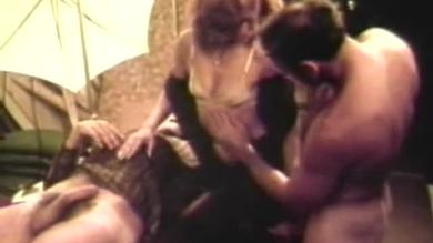 <p>Vintage MMF Threesome Sends This Whore Onto The Streets sss Cock</p>