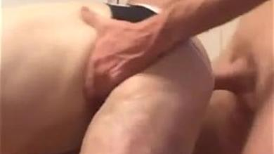 Homemade gay video of horny dudes fucking hard in bareback