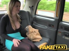 <p>FakeTaxi Gorgeous blonde with Enormous titties</p>