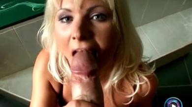<p>Sexy big titted Blond milf Kathy Anderson getting her vagina boned POV doggie</p>