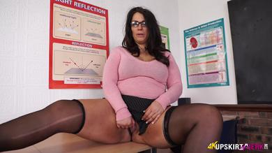 <p>Fantastic JOI from a vagina flashing Up Skirt BBW Anna Lynn</p>